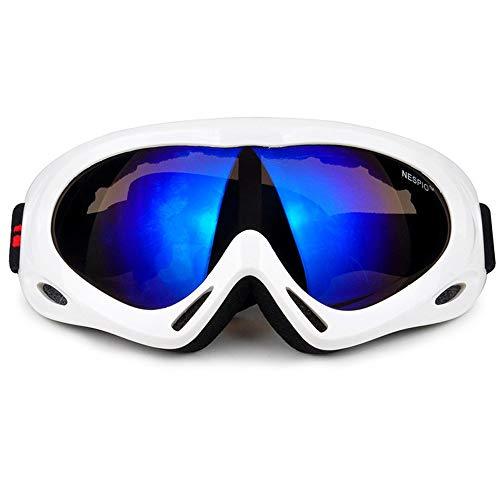 Skibrille Roller Motorrad Motorrad Fahrrad Fahrrad Radfahren Offroad Anti-Fog Einzel-Und...