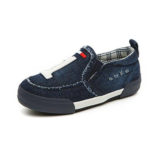 Unisex Kinder Pastryschuhe Dicke Sohle Aufzug Sport Outdoor Frühling Sneakers Dunkelblau