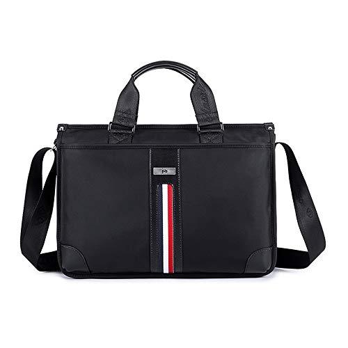 Jxth Classic Business Aktentasche für Herren Aktentasche Schulter Cross-Body-Laptop-Business-Tasche für College-Männer und Frauen Kuriertasche Laptoptasche -