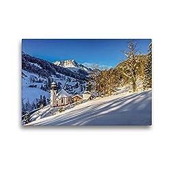 Premium Textil-Leinwand 45 x 30 cm Quer-Format Maria Gern | Wandbild, HD-Bild auf Keilrahmen, Fertigbild auf hochwertigem Vlies, Leinwanddruck von Hannes Brandstätter