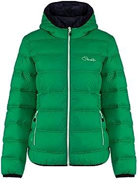 Dare 2B - Chaqueta plumas acolchada modelo Mountain Range para mujer (42/Verde)