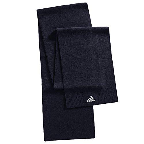 Adidas Performance-OSFM sciarpa lavorata a maglia Unisex, Uomo, Navy, Taglia unica
