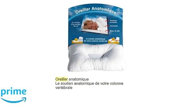 oreiller anatomia CIZ Oreiller Anatomique: Amazon.fr: Cuisine & Maison oreiller anatomia
