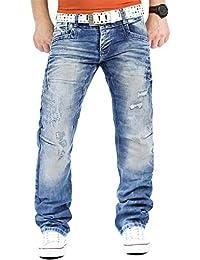 Cipo   Baxx Herren Jeans Mens Pants Freizeit-Hose Clubwear Designer Style  Top dbeb474dc9