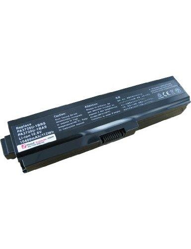 Batterie pour TOSHIBA SATELLITE C670-11X, Haute capacité, 11.1V, 6600mAh, Li-ion