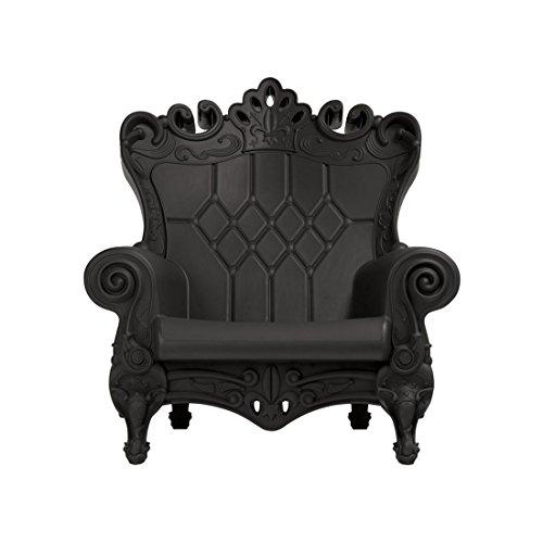 Design of Love Little Queen of Love Baby Armchair Jet Black