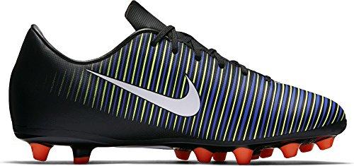 Nike 831944-013, Botas de Fútbol Unisex Adulto, Negro (Black / White-