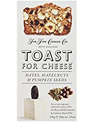 The Fine Cheese Co. Toast for Cheese with Dates, Hazelnuts and Pumpkin Seeds, 100 g