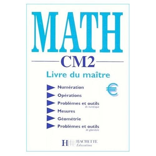 Math CM2. : Livre du maître