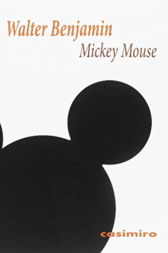 Mickey Mouse por Walter Benjamin