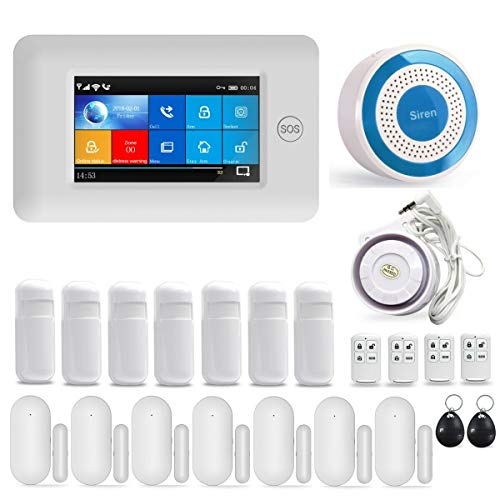 GSM/3G & WIFI Security Alarm Sys...