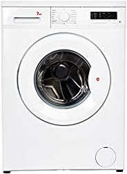 Hoover 7 Kg 1000 RPM 15 Programs Front Load Washing Machine, Made in Turkey, White - HWM-1007-W, 1 Year Warran