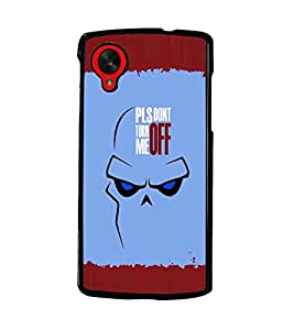 PrintDhaba Quote D-5106 Back Case Cover for LG GOOGLE NEXUS 5 (Multi-Coloured)
