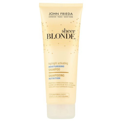 John Frieda Sheer Blonde Shampooing Nutrition Hydratant pour Blonds Clairs 250 ml