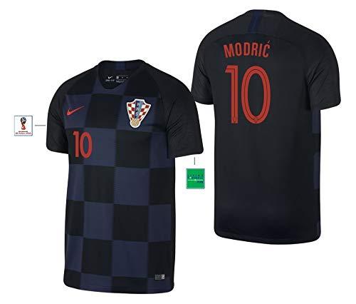 Kroatien Trikot Herren WM 2018 Away - Modric 10 (L)