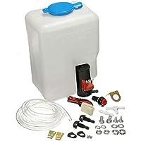 Kit de botella de bomba de depósito de lavadora de parabrisas de coche universal Herramienta de