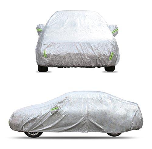 Autoplane Abdeckplane Vollgarage Garage Abdeckung wasserdicht Autoabdeckung für alle Autotypen Winter & Sommer