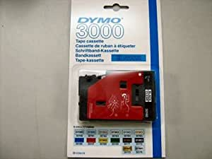 Dymo 3000 dymo cassette 9 mm x 7,7 m noir/doré