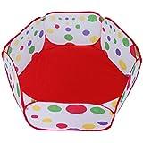 PIXNOR Tente de Jeu Aire de Jeu Piscine à Balles pour Bébé Enfant Pliable Portable