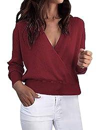 6fabfaa53b02 Amazon.es: jersey mujer invierno - Mine Tom / Jerséis / Jerséis ...