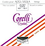 CUERDAS VIOLA - Savarez (Corelli Crystal 730F) (Juego Completo) Fuerte Viola 4/4