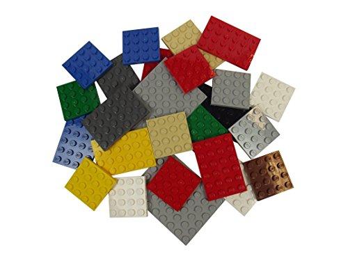 LEGO 25 Platten in Farben und Größen gemischt