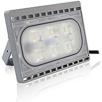 PMS 20W LED Foco Proyector, Peso ligero, Ultra Delgado, IP65 Impermeable, Bajo Consumo de Energía y Alto Brillo, luz de seguridad, Iluminación interior y exterior, luz amplia, lámpara Blanco Cálido
