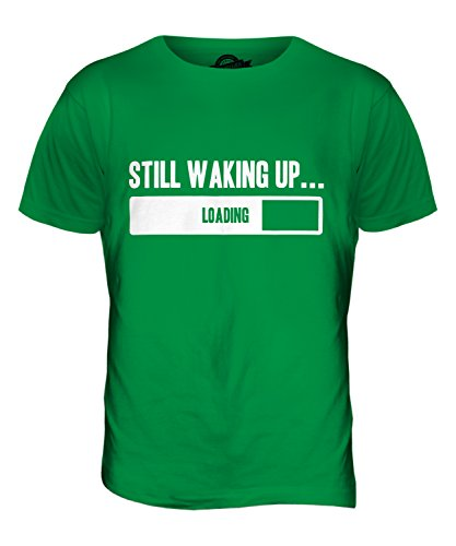 CandyMix Still Waking Up Herren T Shirt Grün