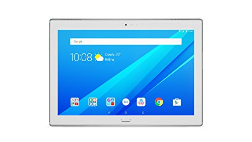 Lenovo Tab4 10 Plus 25,5 cm (10,1 Zoll Full HD IPS Touch) Tablet-PC (Qualcomm Snapdragon MSM8953, 4GB RAM, 64GB eMCP, LTE, Android 7.1.1) weiß