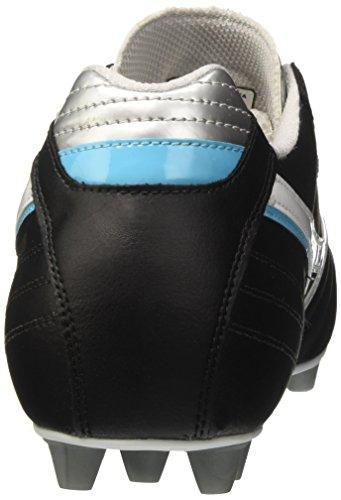 Mizuno Morelia Club 24, Chaussures de Running Homme Multicolore (Black/white/blueatoll 02)