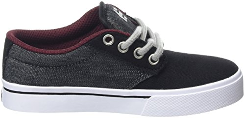 Etnies Unisex-Kinder Jameson 2 Eco Skateboardschuhe, Schwarz Grey (Black Denim763)