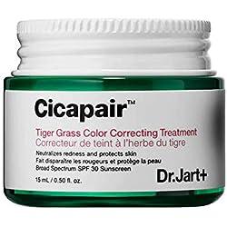 DR. JART+ Cicapair Traitement correcteur de couleurs à l'herbe du tigre, SPF30, 15ml