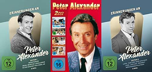 Preisvergleich Produktbild 8 Filme - Die große PETER ALEXANDER COLLECTION - Musikfilme - Lustspiele - Liebeskomödien - 8 DVD Edition