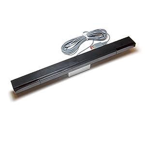 Althemax® Kabelfernbedienungs Ray Sensorleiste Infrarot globalen Sortiment für Nintendo Wii Kontroller