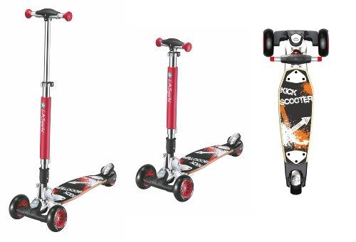 LA Sports Max Street Board Three wheel Tri Scooter Kickboard