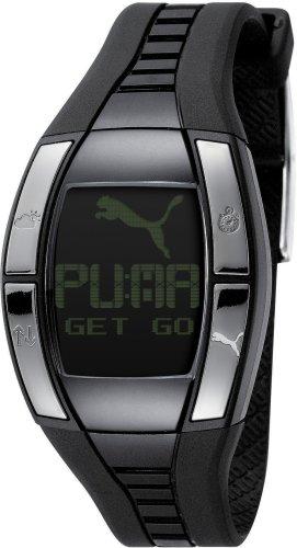 4bd102255 Puma Time - Reloj digital de cuarzo para mujer con correa de cerámica