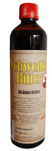 Schwedenbitter original nach Maria Treben (1907-1991), 500 ml - alkoholhaltig