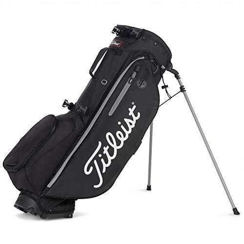 TITLEIST Golftasche Players 4+ Farbe Schwarz/Weiß, Herren, Herren, TB9SX1-0, schwarz/weiß, Unica