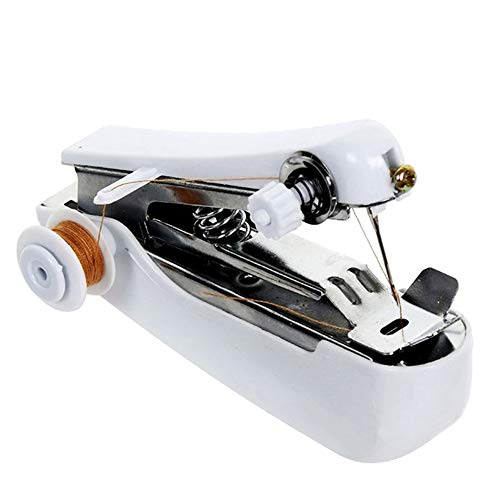 Ouken Mini portátil Manual Coser máquina Coser Puntada