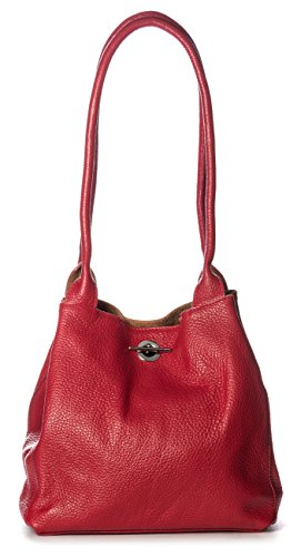 Big Handbag Shop, Borsa a mano donna One Blu (Turchese)