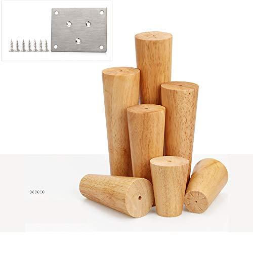 Acryl-leg Warmers (Furniture legs Möbelbeine aus massivem Holz runde TV-Möbel Kaffeetischbeine mittelalterliche Moderne Sofabeine langlebig * 4)