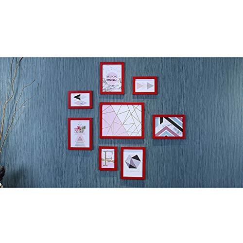 Wnny cornice foto,cornici da parete 8 set di cornici per foto multi-pack, cornice per decorazioni da parete, cornici per foto in plexiglass per espositori da tavolo e cornici per montaggio a parete
