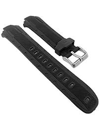 Calypso para banda reloj de pulsera banda de plástico negro k5616