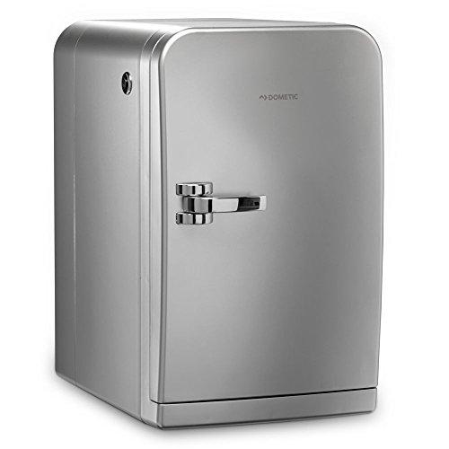 Dometic MyFridge MF 5M  -  Milch-Kühler für Kaffee-Automaten, Kaffee-Maschinen, silberner Mini-Kühlschrank
