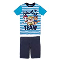 Disney Boy's Dino World Pyjamas, Blue (River Blue 756), 4 Years