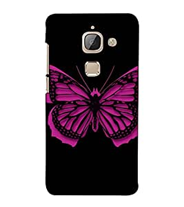 Fuson Designer Back Case Cover for LeTv Le Max :: LeEco Le Max (Designer Butterfly Theme)