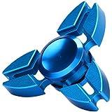 Fidget Spinner Switchali Hand Spinner Fidget Juguete Anti Ansiedad para Niños y Jóvenes Adultos Juguete Educación Juguetes de Aprendizaje - Juego Sensorial Hand Spinner en Oferta (Azul)