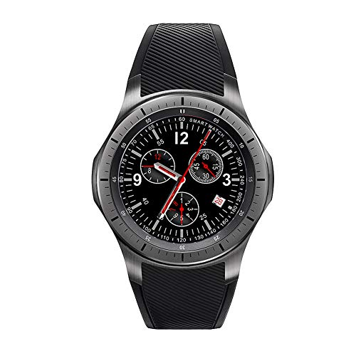 LEMFO LF16 Android 5,1 Smart Watch 3G/WiFi Frequenza Cardiaca GPS Posizionamento Fitness Tracking 512MB + 8GB Bluetooth Musica...