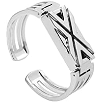 Fitbit Flex Metal Bands, Toamen Milanese Stainless Steel Adjustable Replacement Accessory Straps for Fitbit Flex Fitness Wristband (Silver)