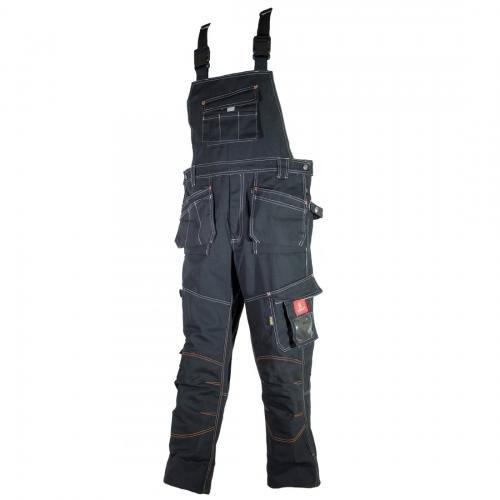 Latzhose Schutzhose Arbeitskleidung Arbeitshose URG-B 315g/m2 (60)